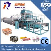 Wholesale Waste Paper Wine And Egg Tray Machine , High Efficient Pulp Molding Machine from china suppliers