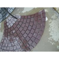 Wholesale Antacid Split Red Slate Stone Tile for decoration exterior , natural slate wall tile from china suppliers