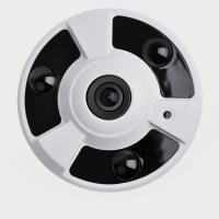 Wholesale H.265 3.0MP Starlight 2.1mm Infrared Fisheye IP Camera fisheye surveillance camera from china suppliers