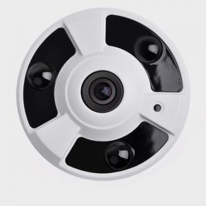 Wholesale H.265 3.0MP Starlight 2.1mm Infrared Fisheye IP Camera fisheye surveillance camera from china suppliers