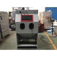 Buy cheap 0.3 ~ 0.7 MPa Air Pressure Abrasive Blasting Cabinets With Manual Control Mode from wholesalers