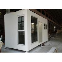 Wholesale DIY Anti Earthquake Refugee Housing Unit , Light Prefab Steel Homes from china suppliers