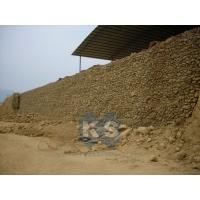 Wholesale Customized Hot Dipped Galvanized, PE, PVC, Galfan Gabion Retaining Wall Stone Baskets from china suppliers