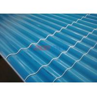 Quality 0.8 - 3 MM Thickness PVC Wall Panel Roll Forming Machine For Plastic Roofing Tile for sale