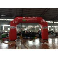 Wholesale Eye-Catching Red PVC Material Inflatable Arch For Event Or Advertising from china suppliers