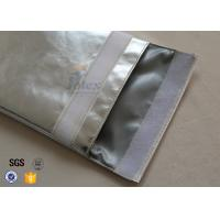 Wholesale Large A4 Size No Itchy Fiberglass Fire Resistant Pouch Fireproof Document Bag from china suppliers