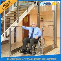 Wholesale Wheelchair Hydraulic Platform Lift with Powder Coating Stainless Steel / Aluminum Alloy Material from china suppliers