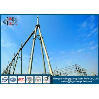 Wholesale 500KV Power Tubular Substation Steel Structures Electrical Power Transmission Line from china suppliers