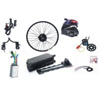 Wholesale Sliver White / Black 250w Electric Bike Kit With 36v 10ah Rack Battery from china suppliers