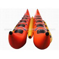Wholesale 0.9mm PVC Banana Motorized Inflatable Boat Heavy Duty RoHS EN71 Certification from china suppliers