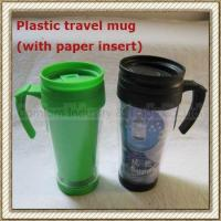 Wholesale Plastic Travel Mug With Paper Insert (CL1C-E26) from china suppliers