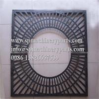 Manufacturer custom new deisgn  simple starburst patterned rectangle ductile iron tree grates on sale