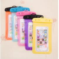 Wholesale Cute Carton Phone Protective Pouch Shell Case Waterproof Outdoor Beach Bag from china suppliers
