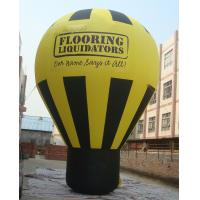 Wholesale PVC Tarpaulin Inflatable Balloon , Inflatable Ground Balloon for Advertising from china suppliers