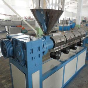 Quality Single Screw Extruder PVC Profile Extrusion Line , 100kg Output PVC Extruder Machine for sale
