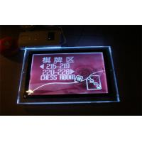 Wholesale A2 HD Photo Advertising / Cinema Acrylic Slim LED Lamp Light Box 8MM , 400 * 600mm from china suppliers