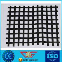 Wholesale Polyester Geogrid Coated With Asphalt Bitumen PVC SBR Excellent UV Resistance from china suppliers