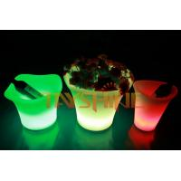 Wholesale Durable PE Pub Ice Bucket With 16 Color Changing  / Led Bar Flower Pots from china suppliers