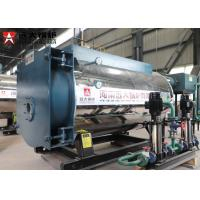 China Horizontal Oil Steam Boiler Diesel Fired Package Boiler 500Hp For Laundry on sale