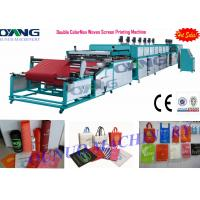 Wholesale Automatic roll to roll Non Woven Screen Printing Machine drying - collecting from china suppliers