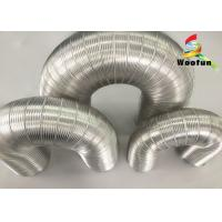 Wholesale Air Conditioner Aluminum Air Duct Semi Rigid Hose Fire Resistant For HVAC System from china suppliers