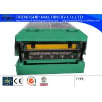Wholesale Steel Automatical Roof Panel Roll Forming Machine with Panasonic PLC Control from china suppliers