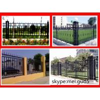 Wholesale Modern welded wrought iron fence from china suppliers