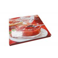Wholesale Coloring Hardcover Recipe Book Printing Services Custom Soup Cookbook Printing from china suppliers