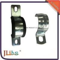 Wholesale Durable Carbon Steel Hydraulic Rubber Lined Hose Clamps With 15mm - 90mm Size from china suppliers
