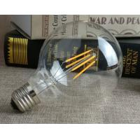 Wholesale High Lumen G95 Filament LED Bulb No Flicker 4W E27 Clear Glass Cover from china suppliers