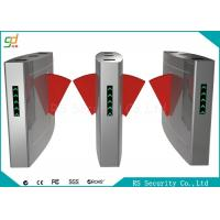 Wholesale Security Access Control Flap Barrier Gate Full Automatic For Station And Airport from china suppliers