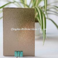Wholesale 4mm, 5mm Bronze Nashiji/Karatachi/Flora Patterned Glass from china suppliers
