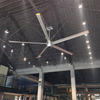 China 2.4m Industrial Giant Ceiling Fan 8 Ft Restaurant Ceiling Fans With Aluminum Alloy Blades on sale