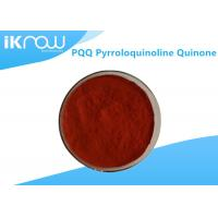 Quality Supplement PQQ Pyrroloquinoline Quinone Powder Reddish Orang CAS 72909 34 3 for sale