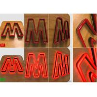 Wholesale LED Illuminated Acrylic neon letter lights for Lighting up LOGO Sign from china suppliers