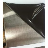 Wholesale SS 304 /201 hairline finish  1220mm x 2440mm stainless steel sheet from china suppliers
