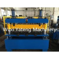 Wholesale Fully Automatic Roof Profiling Machine , Metal Deck Roll Forming Machine 90mm Roller Diameter from china suppliers