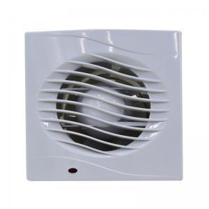 18W Bathroom Ventilation Fan 6'' 150MM Plastic Wall Mounted Bathroom Exhaust Fan
