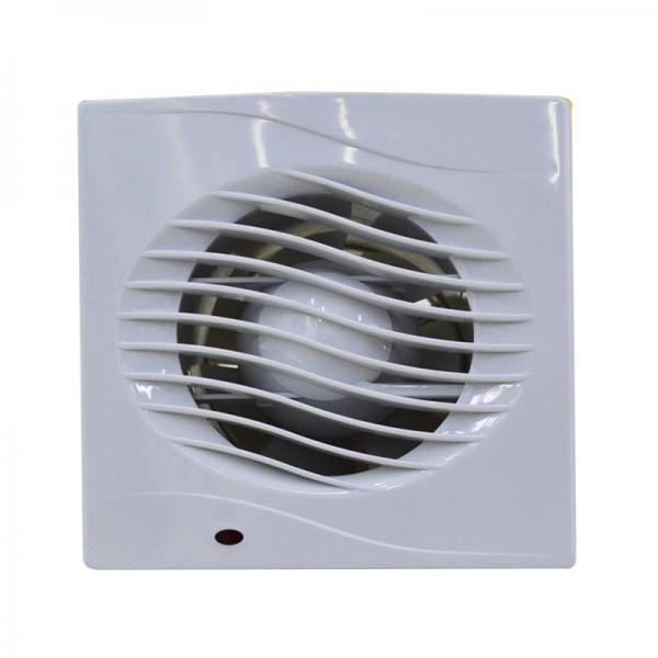 Quality 18W Bathroom Ventilation Fan 6'' 150MM Plastic Wall Mounted Bathroom Exhaust Fan for sale