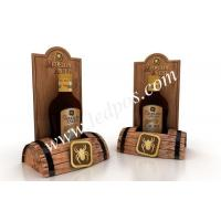 Wholesale Medellin Anejo Wooden Bottle Barrels Display from china suppliers