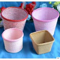Wholesale 2016 Hot sale Europe Style Paper cloth Basket, storage basket, gift packing, cosmetic packing, household items from china suppliers