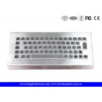 Wholesale Free Stand Desktop Stainless Steel Metal Keyboard for Industrial Using from china suppliers