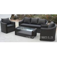 Wholesale Black Rattan Wicker Furniture Aluminium Garden Furniture For Outdoor / Indoor from china suppliers