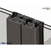 Quality Alloy 6063 T5 Thermal Break Aluminium Extruded Profile 1.2 Milimeter Thickness for sale