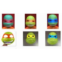 Wholesale Halloween Party Costume Ninja Turtles Cosplay Mask Full Face PVC Film Mask from china suppliers