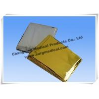 Wholesale Small First Aid Kits Space Emergency Mylar Blanket Thermal Foil PET Film from china suppliers