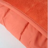 Wholesale Multi Short Plushed Cushioned Colorful Super King Quilt Microfiber Blanket from china suppliers