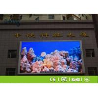 Wholesale Show Clearly Outdoor Full Color LED Screen P5 For Train Station / Bus Station from china suppliers