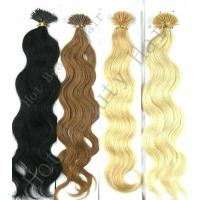 Wholesale 100% Remy Human Yellow and Brown I - Tip Pre Bonded Hair Extension from china suppliers
