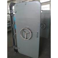 Wholesale A60 Marine Access Doors Fire Proof Single Leaf Wheel Handle Watertight Steel Doors from china suppliers